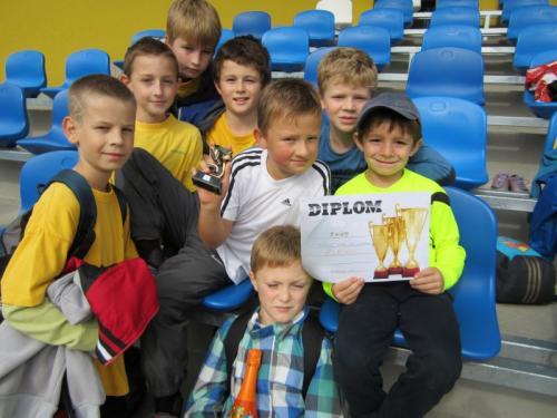 20141008 - ŠD - Fotbalové utkání mezi družinami v Buchlovicích