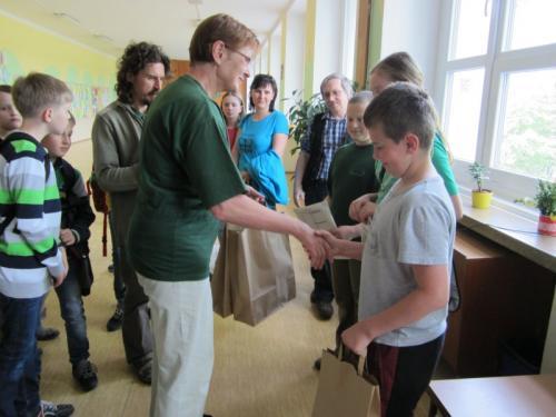 20140428 - 5. třída - Třetí místo v krajském kole přírodovědné soutěže Poznej a chraň