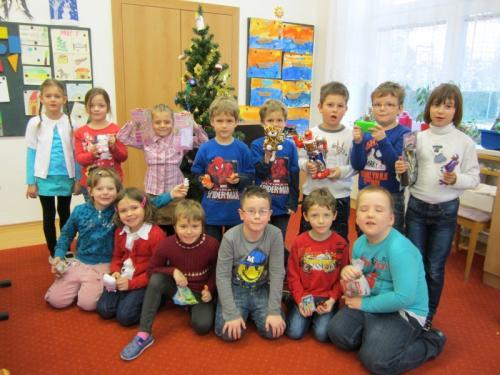 20131220 - Vánoční besídky v 1. , 2. a 3. třídě