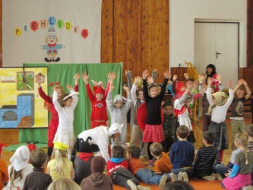 20130403 - Naše účast na přehlídce školních družin v Osvětimanech