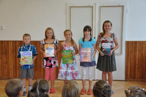 20120629 - Rozloučení s páťáky a ocenění nejlepších žáků