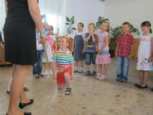20120626 - Loučení s mateřskou školkou a pasování na školáka