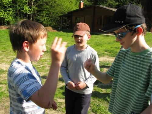 20110509 - Školní výlet - 3. a 4. třída - Hájenka Semetín