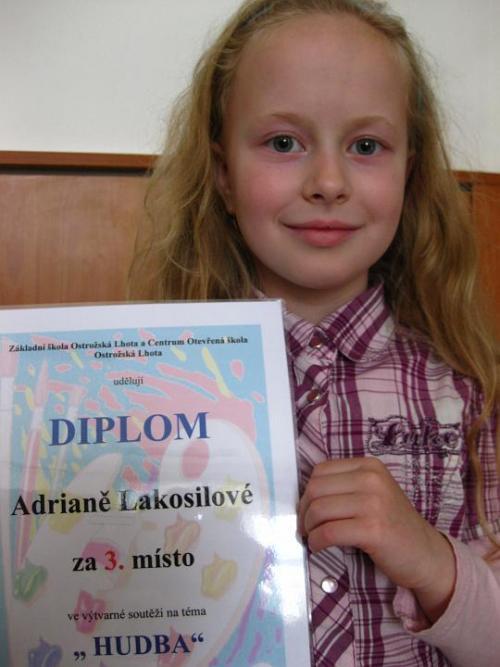20100507 - Úspěch Adriany Lakosilové ve výtvarné soutěži