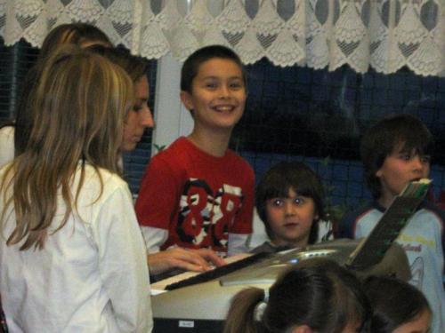 20091221 - Besídka žáků hudebního kroužku