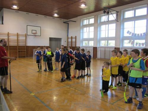 20160421 - ŠD - Florbalový turnaj školních družin v Osvětimanech